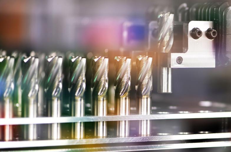 切削工具専用機械による研磨